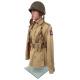 Military Male Half-Body Torso Dress Form TOR-13