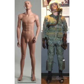 """Head Up"" Military Male Mannequin MDP10"