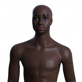Military Male African-American Mannequin MDP38 (without uniform)