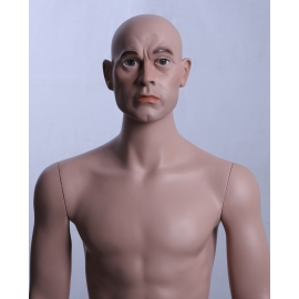 Military Male Caucasian Mannequin MDP15 (without uniform)