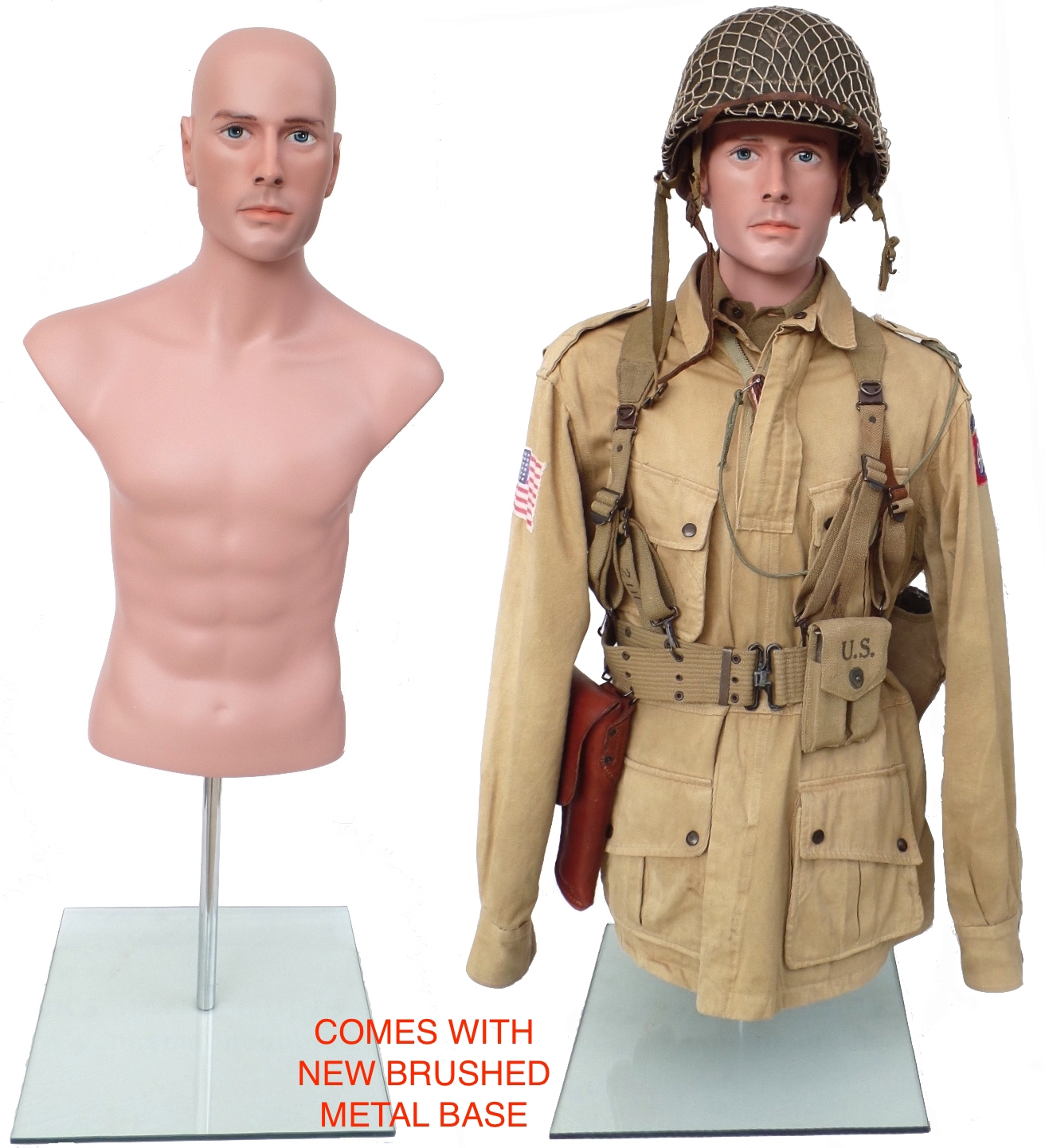 military torso half body tailor form ww2 ww1 manikin us small size