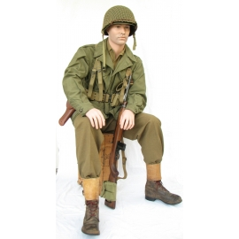 Military Male Sitting Mannequin MSA02-P