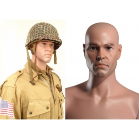Military Male Caucasian Mannequin MDP14 (without uniform)