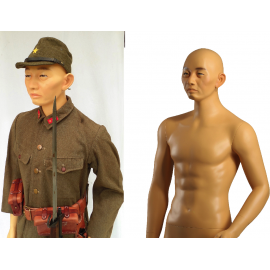 Military Male Japanese Mannequin MDJ01
