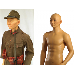 Military Japanese Asian Vietnamese Mannequin MDJ01