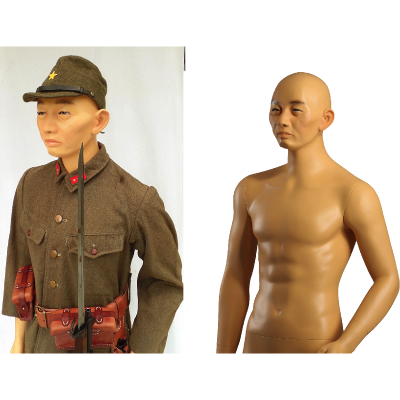 Asian male mannequin