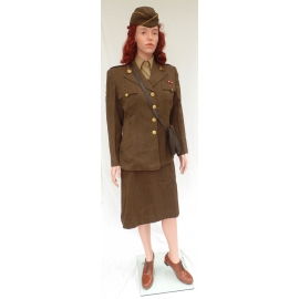 Military Female Caucasian Mannequin FEM1 (without wig & uniform))