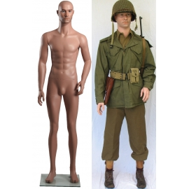 Military Male Caucasian Mannequin MDP12 (without uniform)