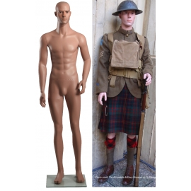 Military Mannequin ww1 ww2 uniform museum