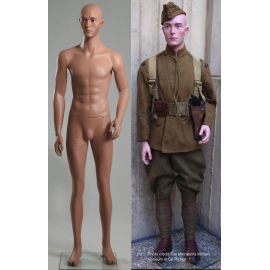 Military Male Caucasian Mannequin MDP08 (without uniform)